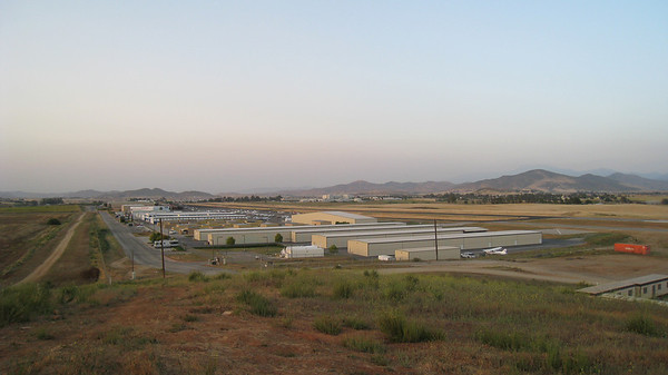 Overlooking French Valley airport