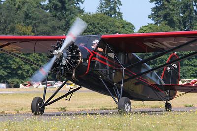 Stinson SM-2 Junior NC12164 (cn 8102) 2012 NWAAC Fly-In