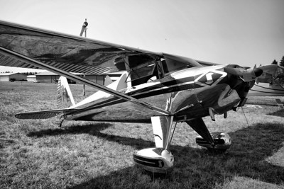Luscombe 8E Silvaire NC1868K (C/N 4595) 2012 NWAAC Fly-In