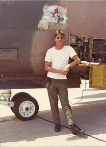398 A-7d Old Warrior Raymond Dawson pilot Col Tee Coke -1 KK