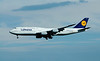 Here is the aircraft that has been the supreme jumbo jet of the skies as far as I'm concerned.  This is the Boeing 747!  This has been my favorite aircraft ever since I got interested in planes.