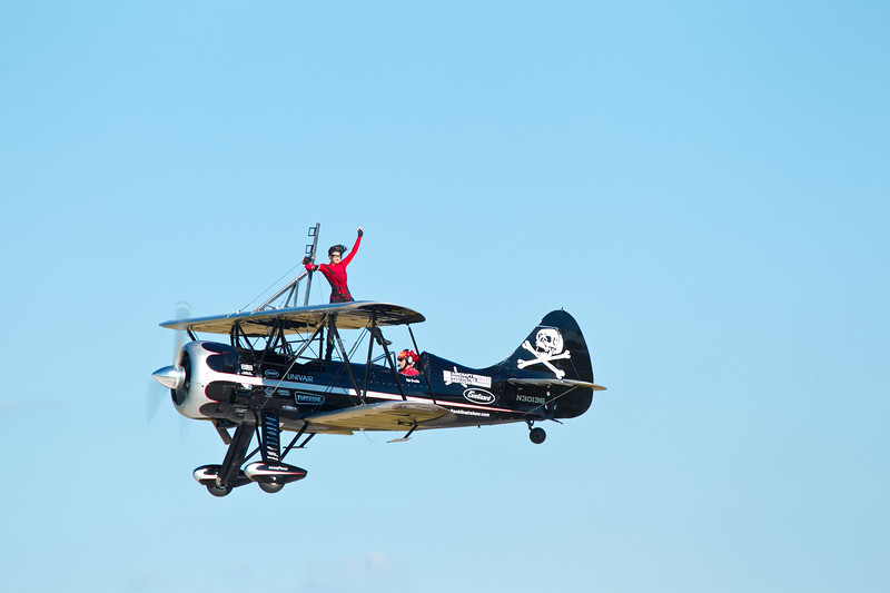 Amanda & Kyle Franklin with the Franklin Flying Circus. Amanda will be remember forever.