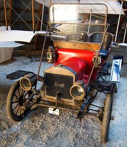 A 1910 Maxwell automobile