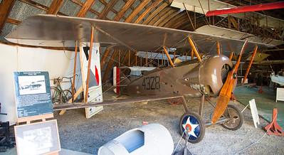 The Thomas-Morse, America's main (unsuccessful) attempt to create a WW-I fighter plane.