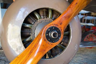 Rotary engine of the Thomas Morse