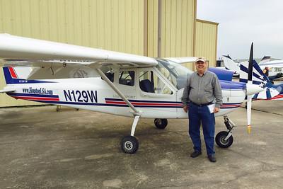 Larry Seigler and the Tecnam P92