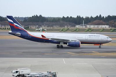 VQ-BBG AEROFLOT A330-200