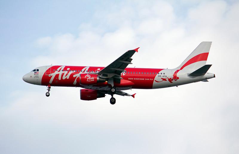 9M-AFB AIR ASIA A320