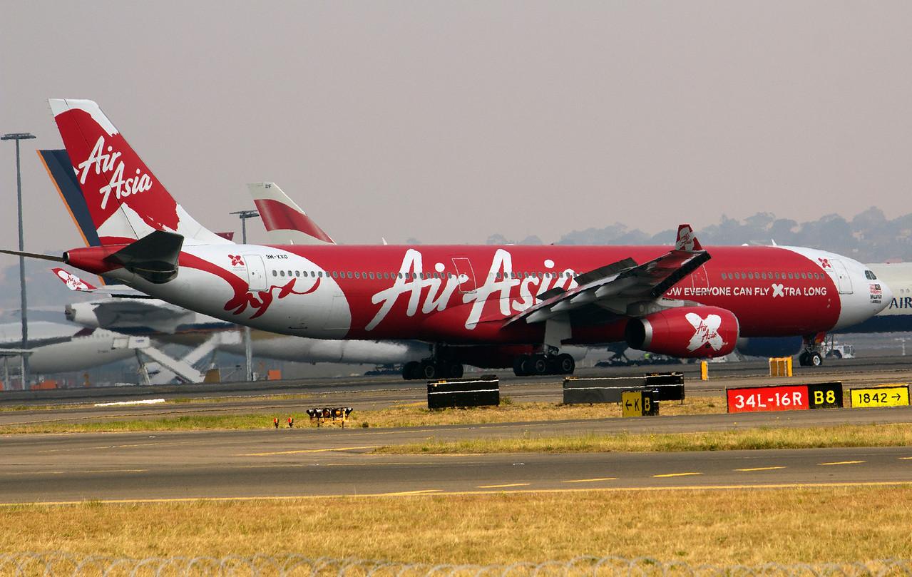 9M-XXG AIR ASIA X A330-300