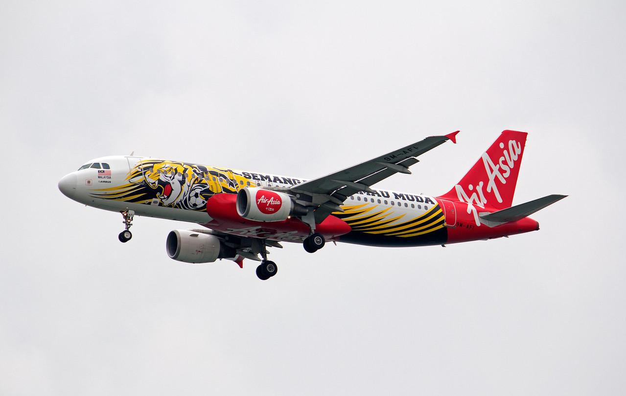 9M-AFI AIR ASIA A320