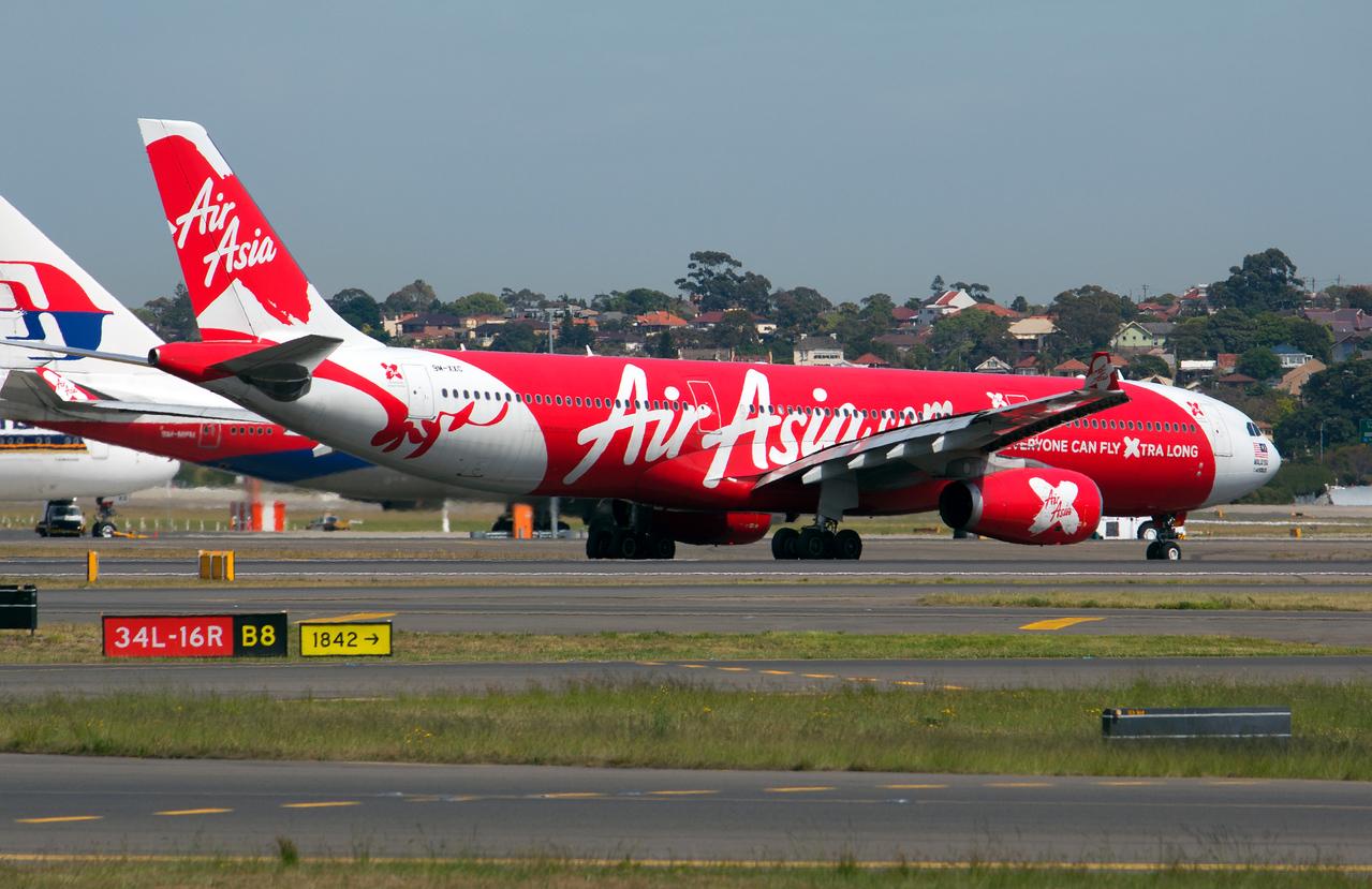 9M-XXC AIR ASIA X A330-300