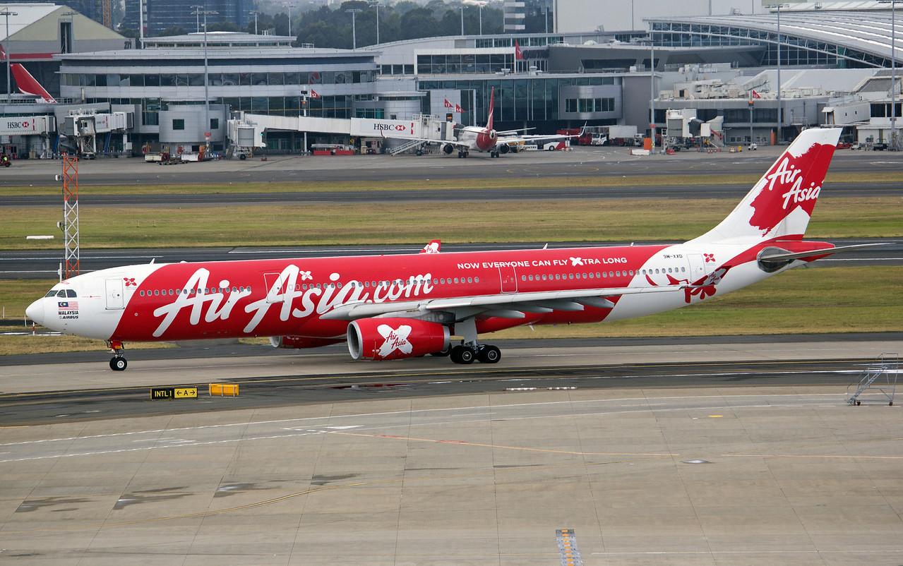 9M-XXD AIR ASIA X A330-300