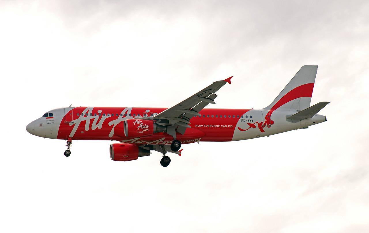 PK-AXA AIR ASIA A320