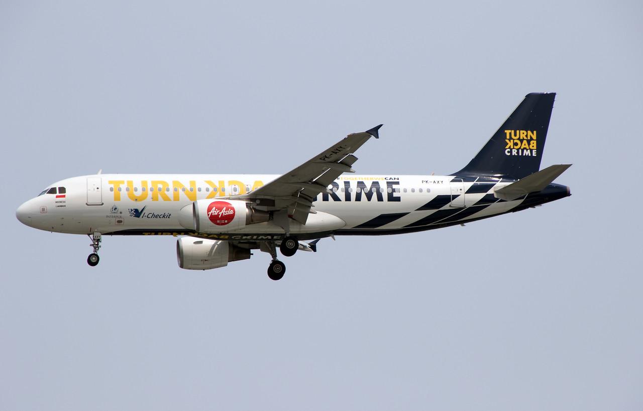 PK-AXY AIR ASIA A320