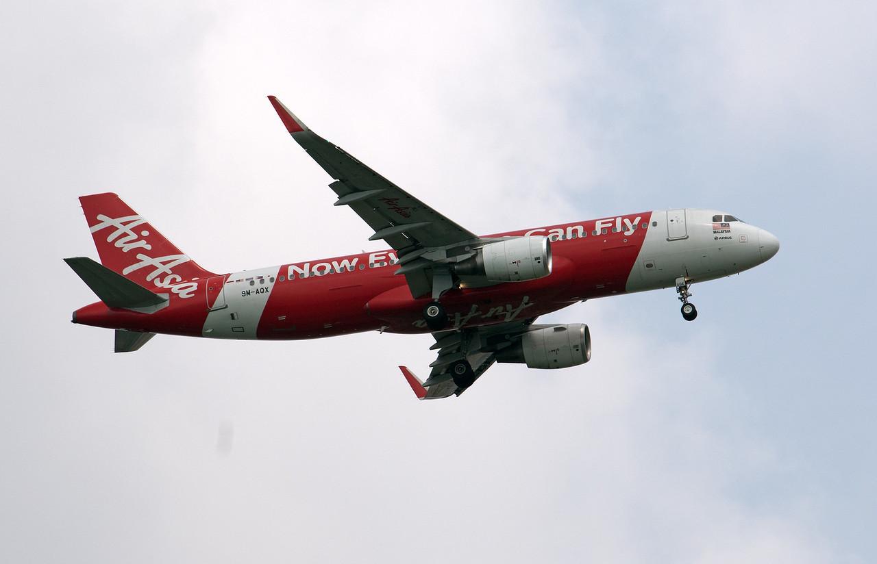 9M-AXQ  AIR ASIA A320