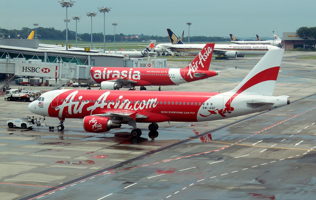 9M-AQF AIR ASIA A320
