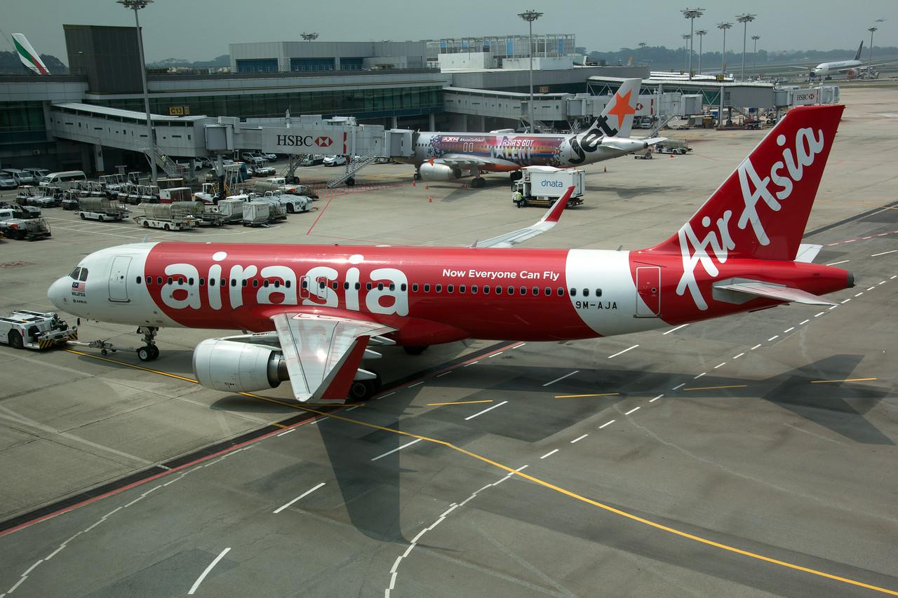 9M-AJA AIR ASIA A320