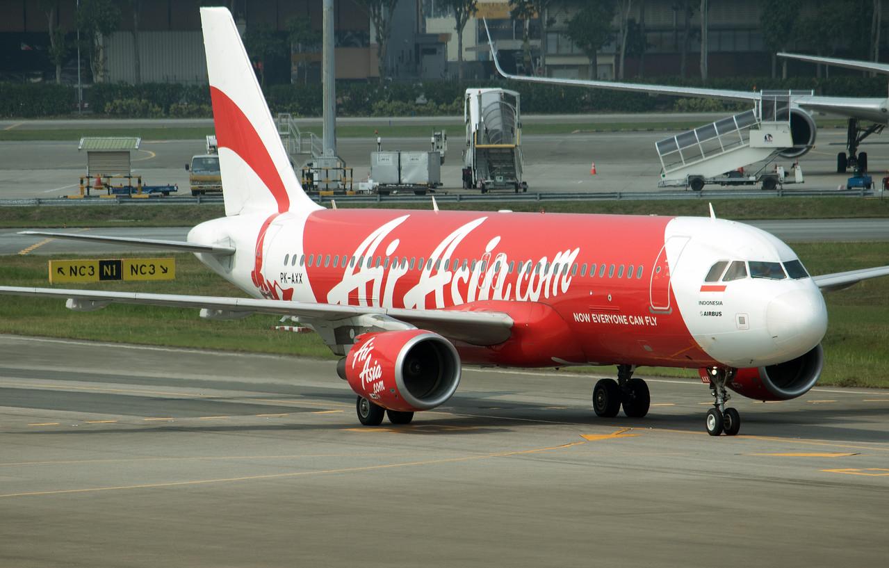 PK-AXX AIR ASIA A320