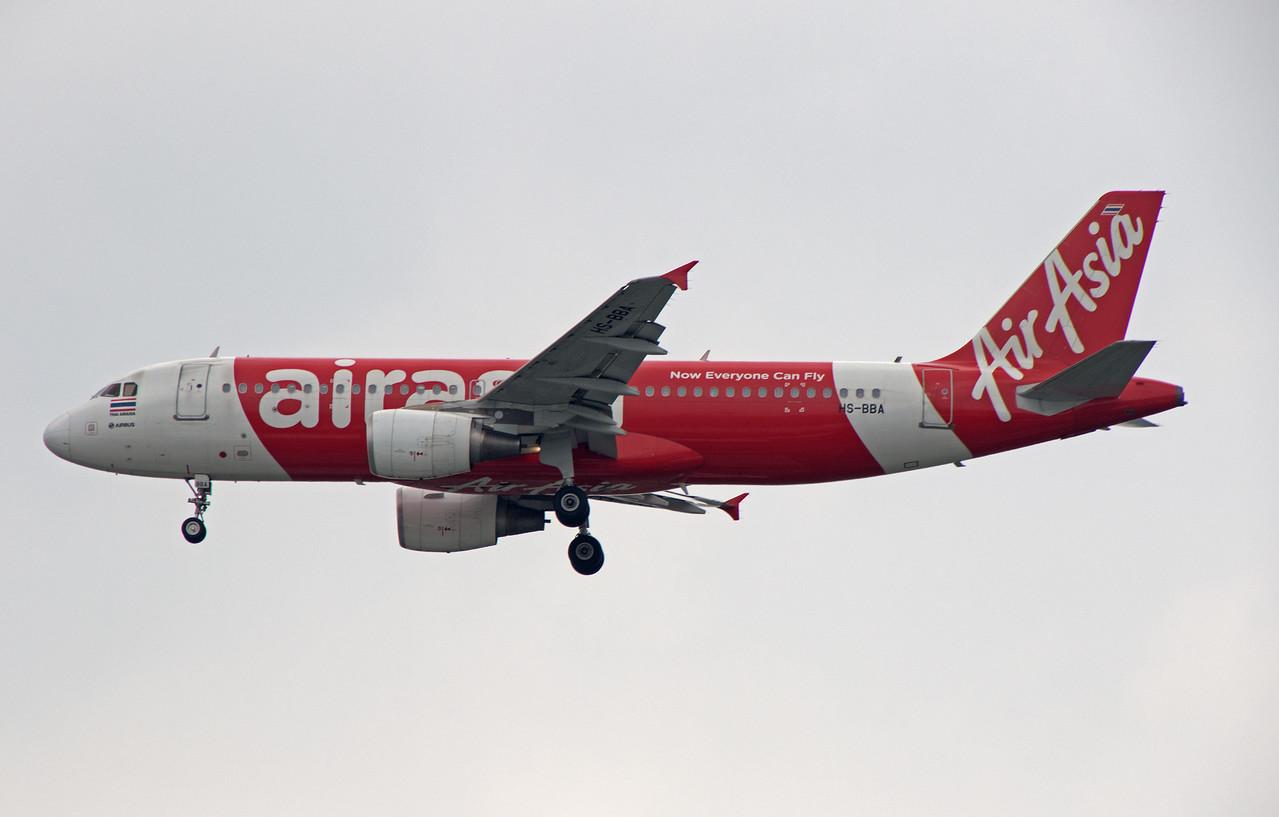 HS-BBA AIR ASIA A320