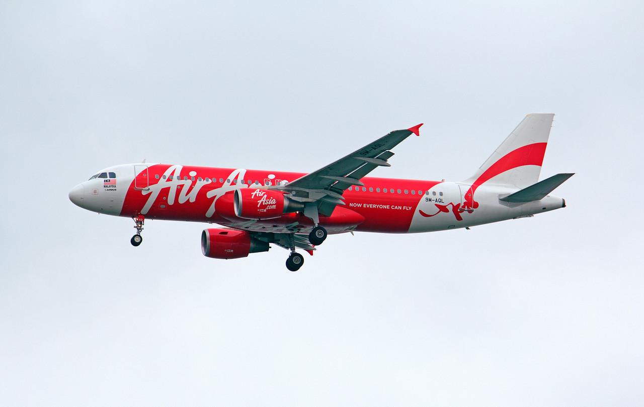 9M-AQL AIR ASIA A320