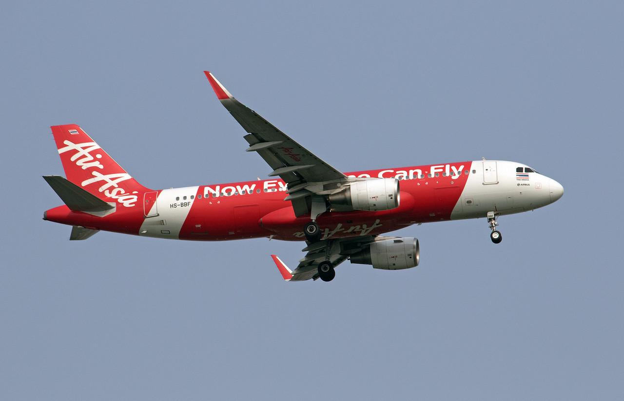 HS-BBF AIR ASIA A320