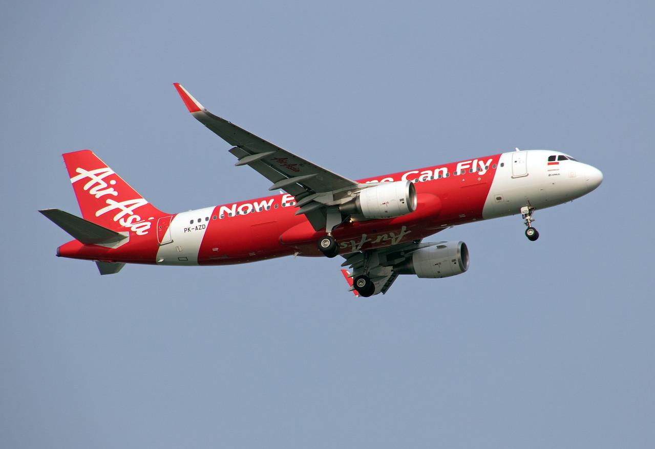PK-AZD AIR ASIA A320