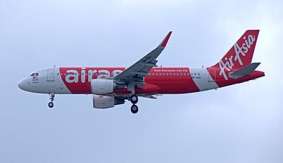 9M-AQU AIR ASIA A320