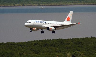 F-OJSB AIRCALIN A-320