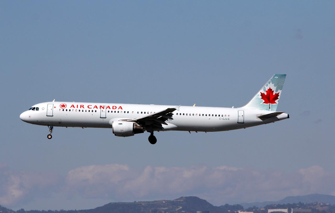 C-GJVX AIR CANADA A321