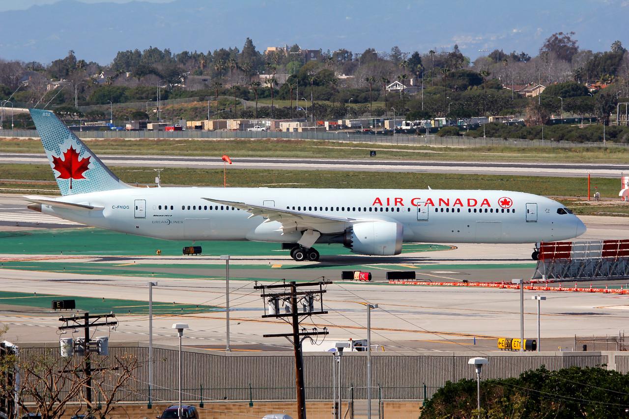 C-FNOG AIR CANADA B787-9