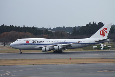 B-2447 AIR CHINA 747-400