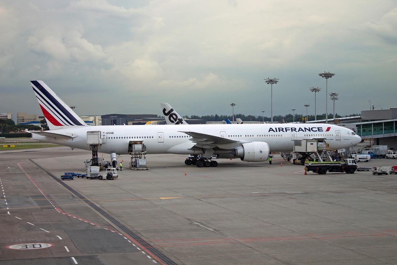 F-GSQE AIR FRANCE B777-300