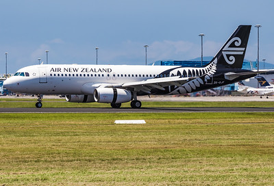 ZK-OJF AIR NEW ZEALAND A320