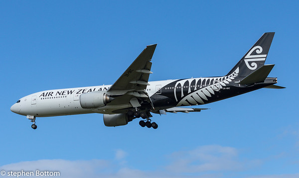 ZK-OKC AIR NEW ZEALAND B777-200