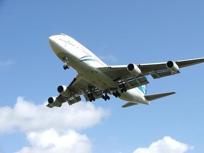 ZK-NBU AIR NEW ZEALAND 747-400