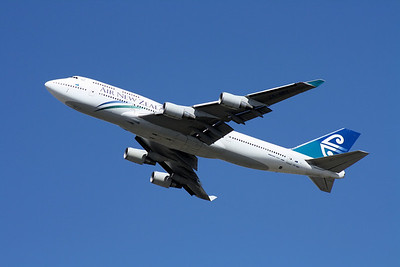 ZK-NBV AIR NEW ZEALAND 747-400