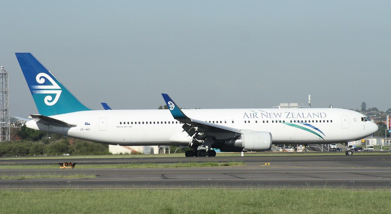 ZK-NCI AIR NEW ZEALAND B767-300