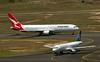 ZK-OJG AIR NEW ZEALAND A320<br /> VH-OGT QANTAS B767-300