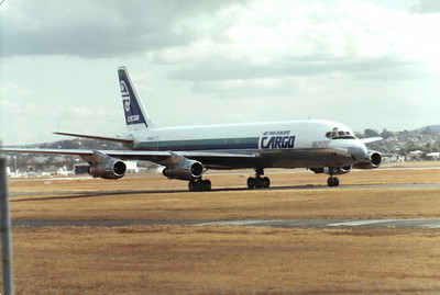 ZK-NZD AIR NEW ZEALAND CARGO DC-8-52