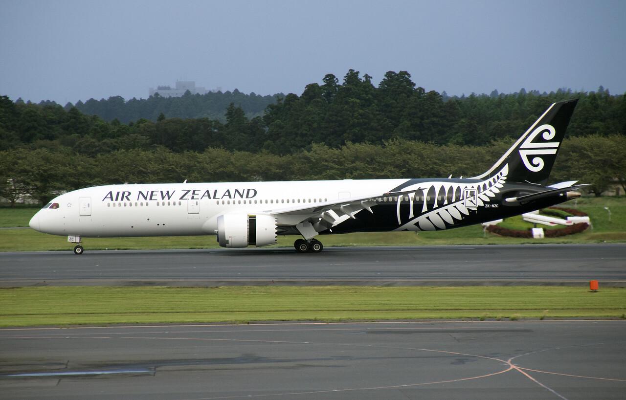 ZK-NZC AIR NEW ZEALAND B787-9