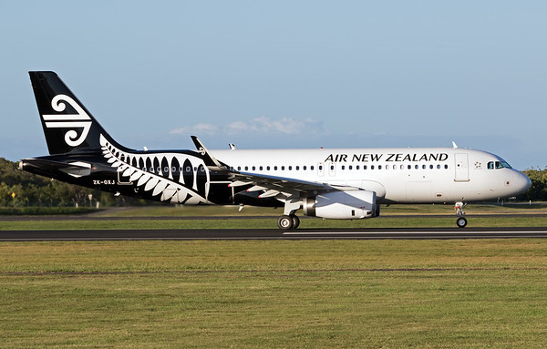 ZK-OXJ AIR NEW ZEALAND A320