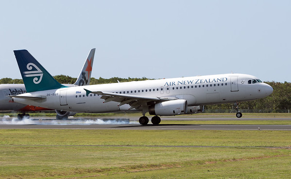 ZK-OJO AIR NEW ZEALAND A320