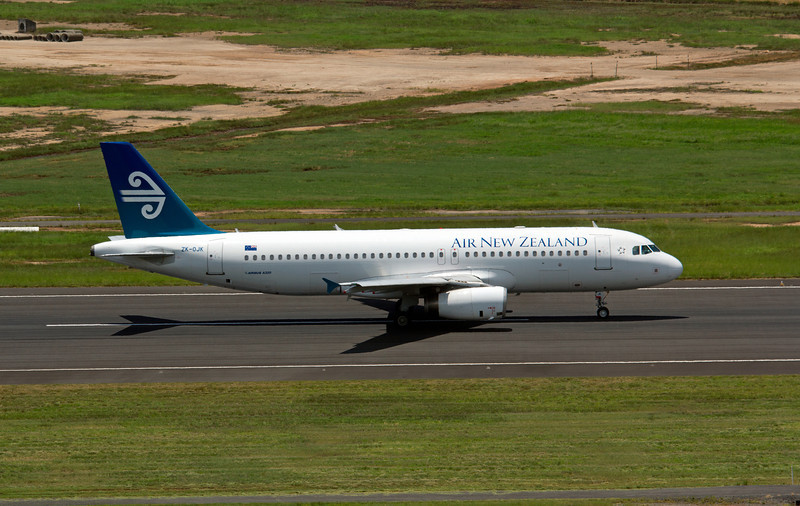 ZK-OJK AIR NEW ZEALAND A320