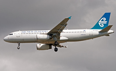 ZK-OJC AIR NEW ZEALAND A320-200