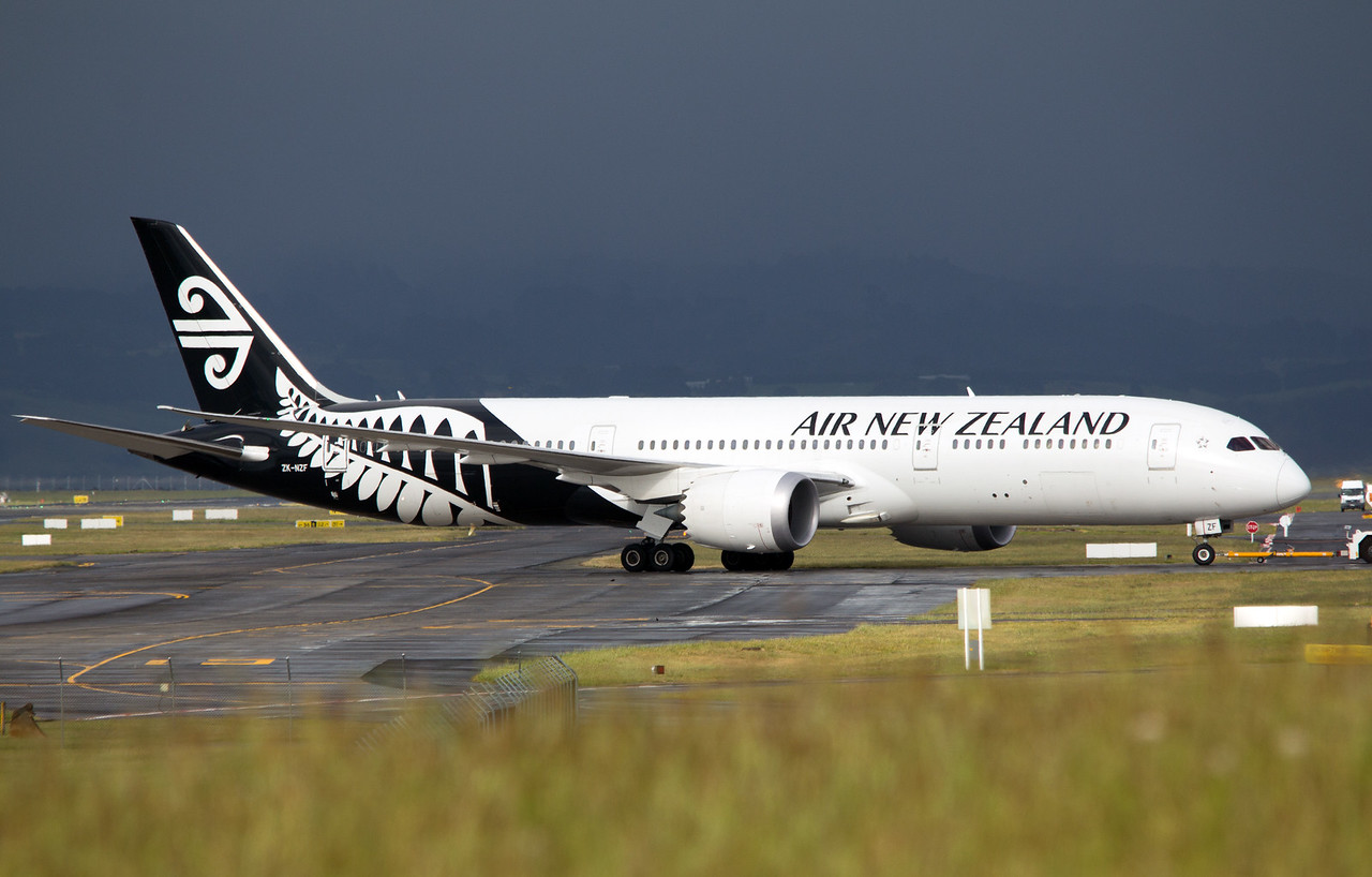ZK-NZF AIR NEW ZEALAND B787-9