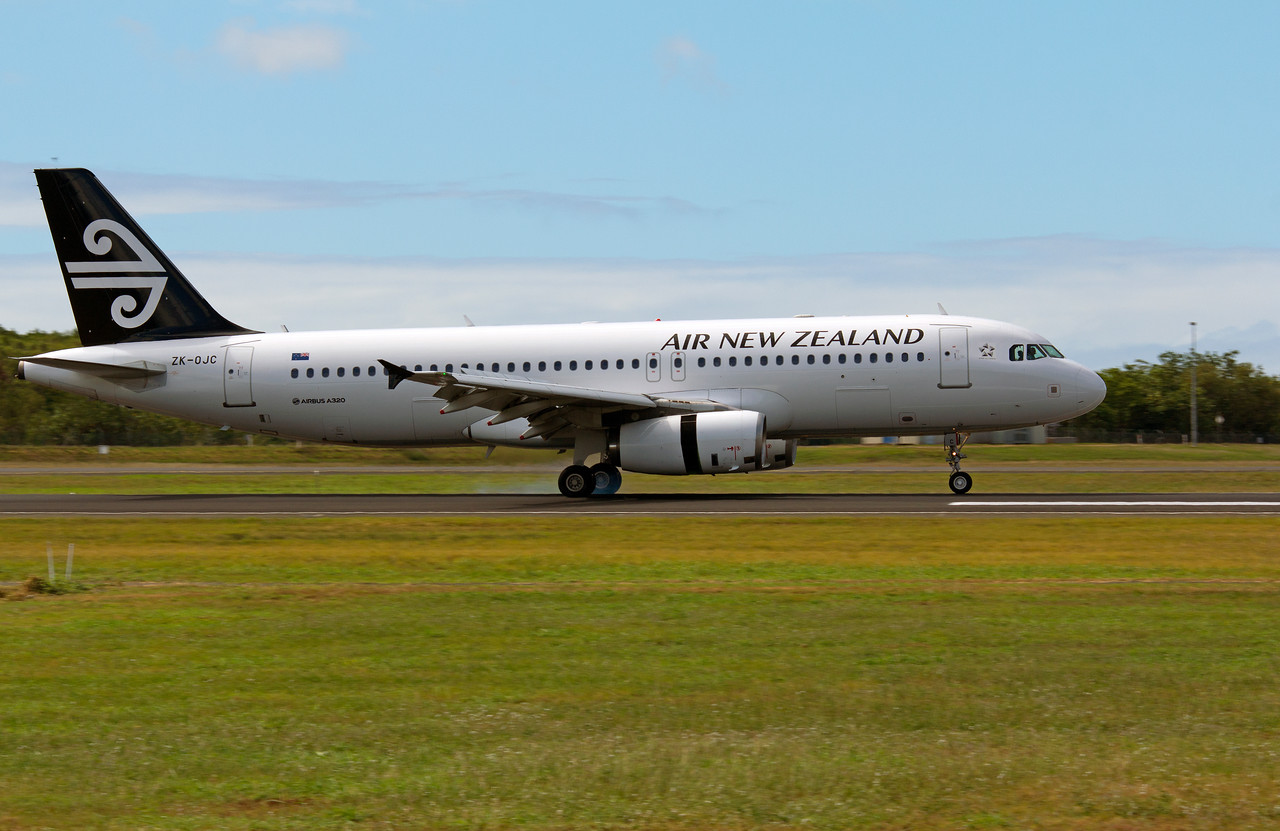 ZK-OJC AIR NEW ZEALAND A320