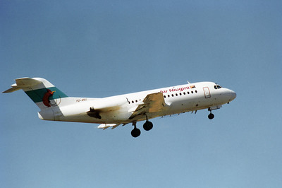 P2-ANU AIR NIUGINI F-28