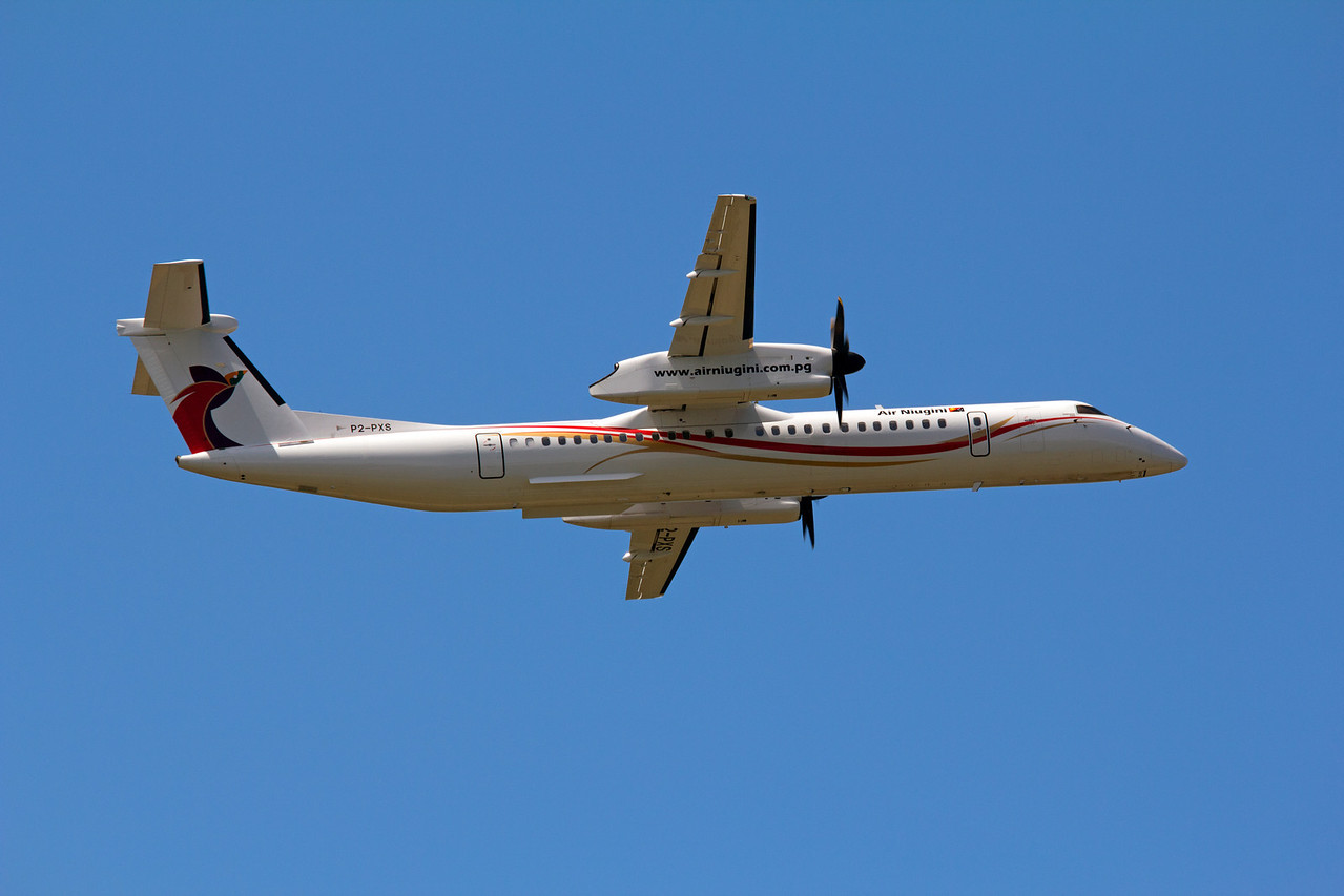 P2-PXS AIR NIUGINI DASH-8-Q400