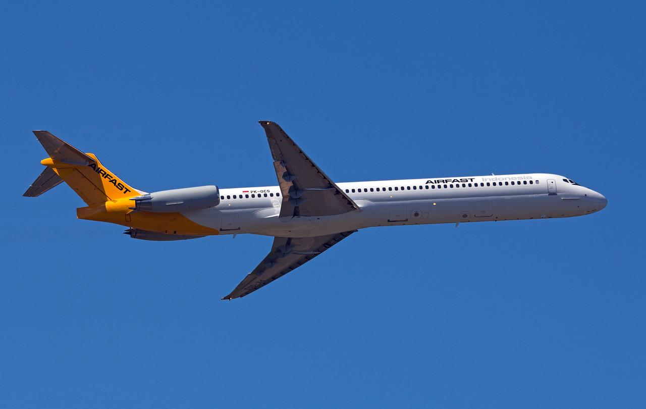 PK-OCS AIRFAST MD-83