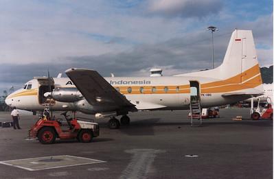 PK-OBQ AIRFAST INDONESIA HS-748